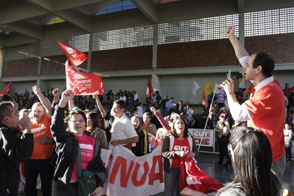 """""""A greve continua, Silval a culpa é sua!"""", afirma categoria"""