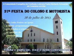 27ª Festa do Colono e Motorista 2013 - 28.07