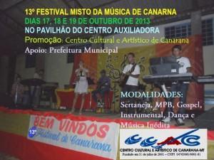 13º Festival Misto da Música de Canarana