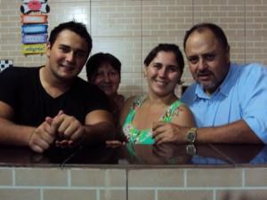 Wilmar Pfeifer e família - 04.01.13