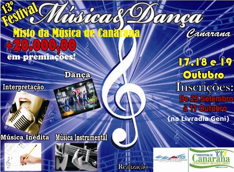 Festival 2013 - Cartaz Mineiro
