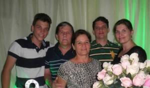 Herberto Ücker e família - 15.09.13