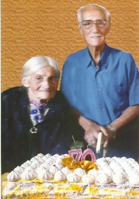 Leonel Pereira dos Santos e Maria Damiana dos Santos - pais de
