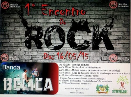 1º Encontro do Rock R. Cascalheira - 16.05.15